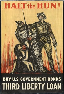 Third Liberty Loan Poster, World War I
