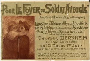 """Pour Le Foyer du Soldat Aveugle"", Benefit Art Exhibit"