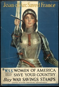 Joan of Arc Poster, World War I