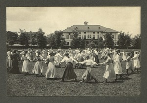 Circle dance, Overbrook School for the Blind, Philadelphia