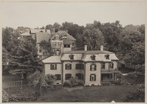 Photograph Album of the Newell Family of Newton, Massachusetts - Burrage, Tolman and Ward Residences -