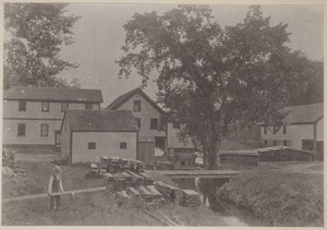 Photograph Album of the Newell Family of Newton, Massachusetts - Aunt Ellen Curtis's Saw Mill -