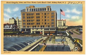 Hotel Kingsley Arms and New Monte Carlo Beach Club, Asbury Park, N. J.