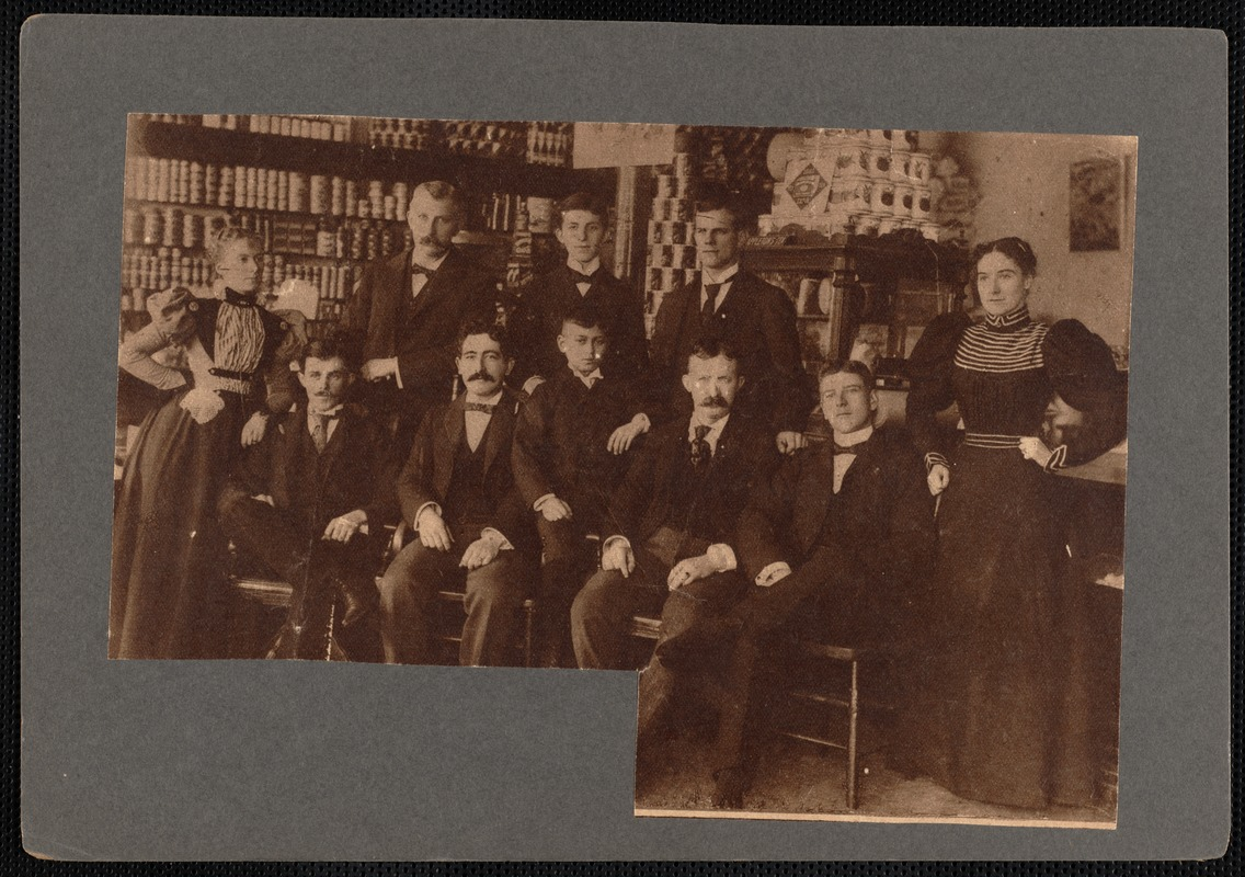 A. G. Alley Grocery Company's employees, New Bedford, MA