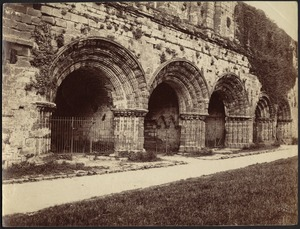Norman arches, Furness Abbey