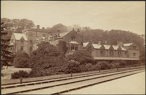 Furness Abbey from the station