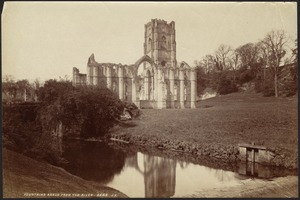 Fountains Abbey from the river