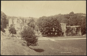 View of Furness Abbey