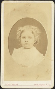 Young girl with blond curls