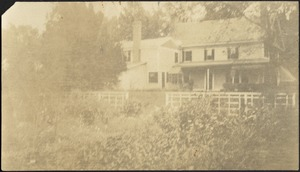 Ashdale Farm. Rear view of main house.