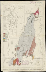 Road map of the island of Rhode Island, or Aquidneck