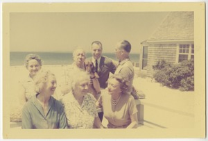 Helen Keller at Martha's Vineyard, June 1961