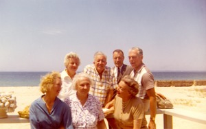 Group photo at Martha's Vineyard, 1961