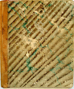 Emma J. Kent, Exteter New Hampshire, notebook of poems, Abbot Academy