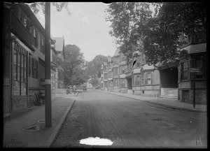 Green Street. Jamaica Plain, Massachusetts