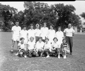 1960s Milford High School tennis team