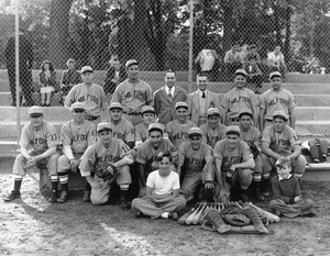 1950s Milford baseball team photo