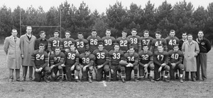 1950s Milford High School football team