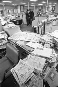 Boston Globe classified advertising department, Dorchester