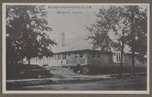 Waban photographs - Neighborhood Club -
