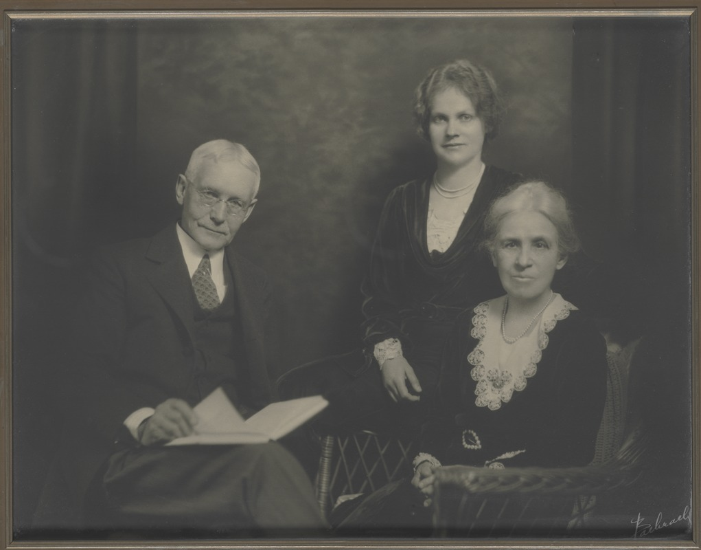 Waban photographs - Dr. Charles Herrick Cutler and Family -