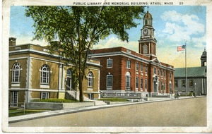 Public Library and Memorial Building, Athol, Mass.