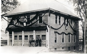 Blackstone's first fire station