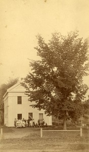 Buckland Center School, Buckland, Mass., circa 1890