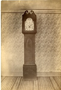 Clock, made by William Sherwin, Buckland, Mass., circa 1820