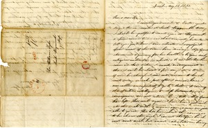Letter from Mary Lyon to Reverend William Tyler, August 21, 1835