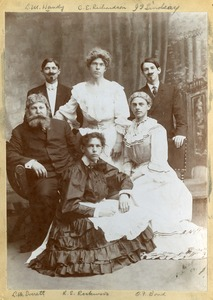 Actors in a Clark University Play, 1906