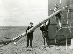 Placing a Goddard Rocket in the Launch Tower