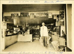 Henry Hall Store, 1927