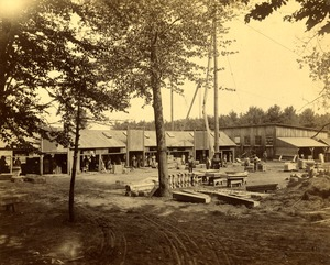 Norcross Brownstone Company at Taylor Quarry, 1889