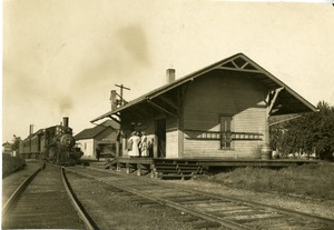 Railroad Station in East Longmeadow