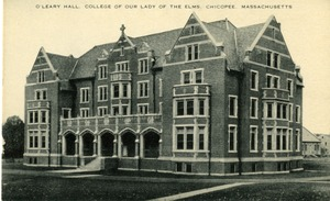 O'Leary Hall, College of Our Lady of the Elms. Chicopee, Massachusetts