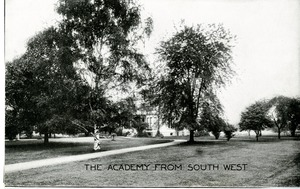 Our Lady of the Elms Academy from the Southwest