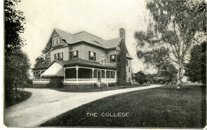 The first building on the Elms College Campus