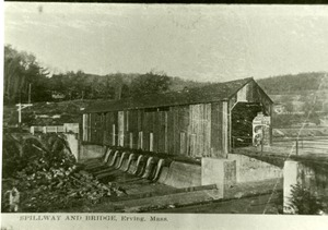 Spillway and Bridge, Erving, Mass.