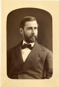 General William Franklin Draper as a young man