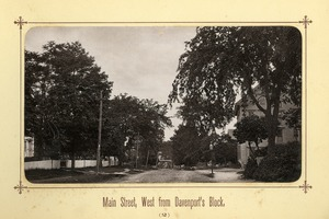 Album image 02, Main Street, West from Davenport's Block