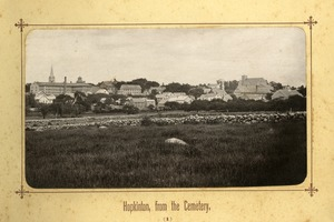 Album image 01, Hopkinton from the cemetery