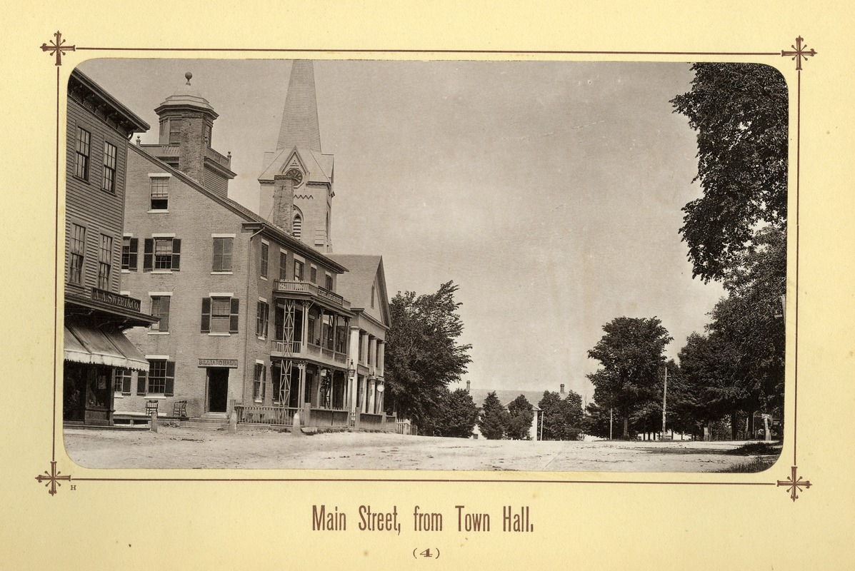 Album image 03, Main Street, from Town Hall