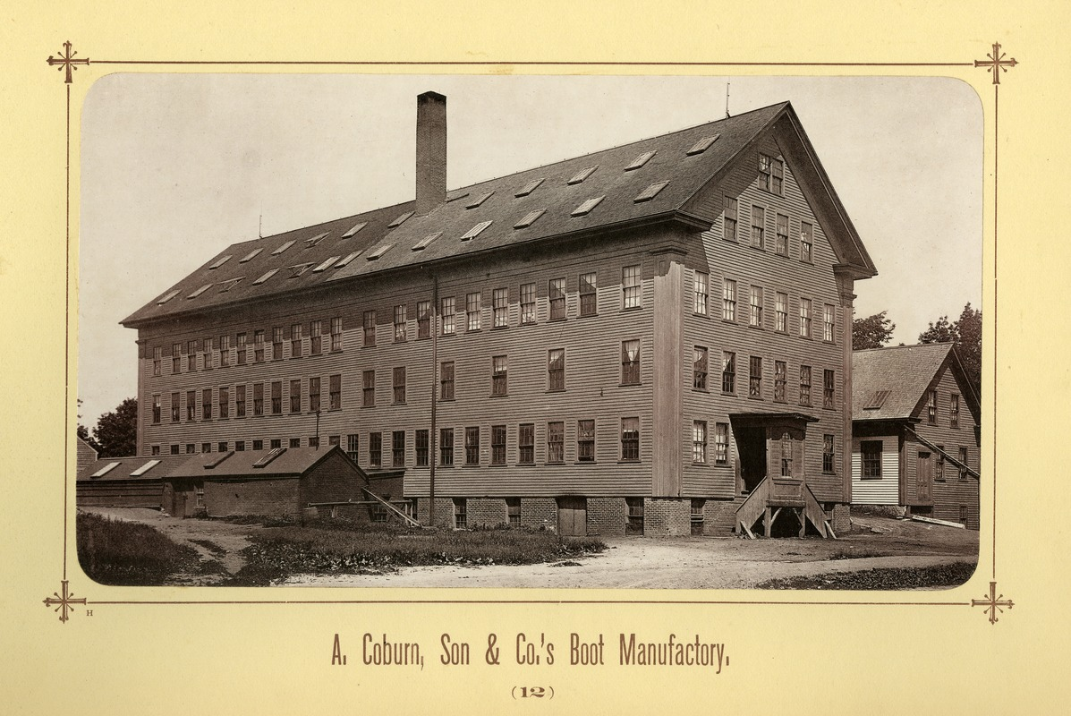 Album image 08, A. Coburn, Son & Co.'s Boot Manufactory