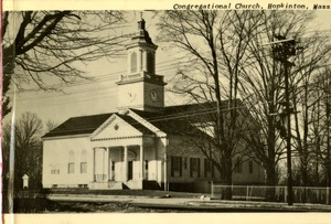First Congregational Church, Image 3, Hopkinton