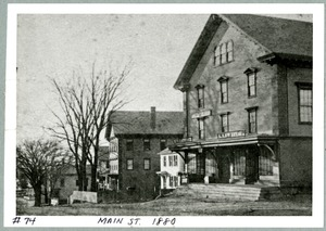 Hopkinton Town Hall, ca 1880