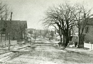 Main Street Hopkinton near Cedar Street intersection