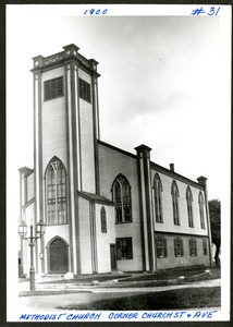 Methodist Church #1, Hopkinton ca 1900