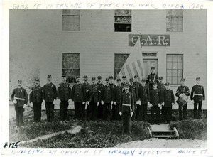 Sons of Civil War Veterans of Hopkinton Ma, ca 1900