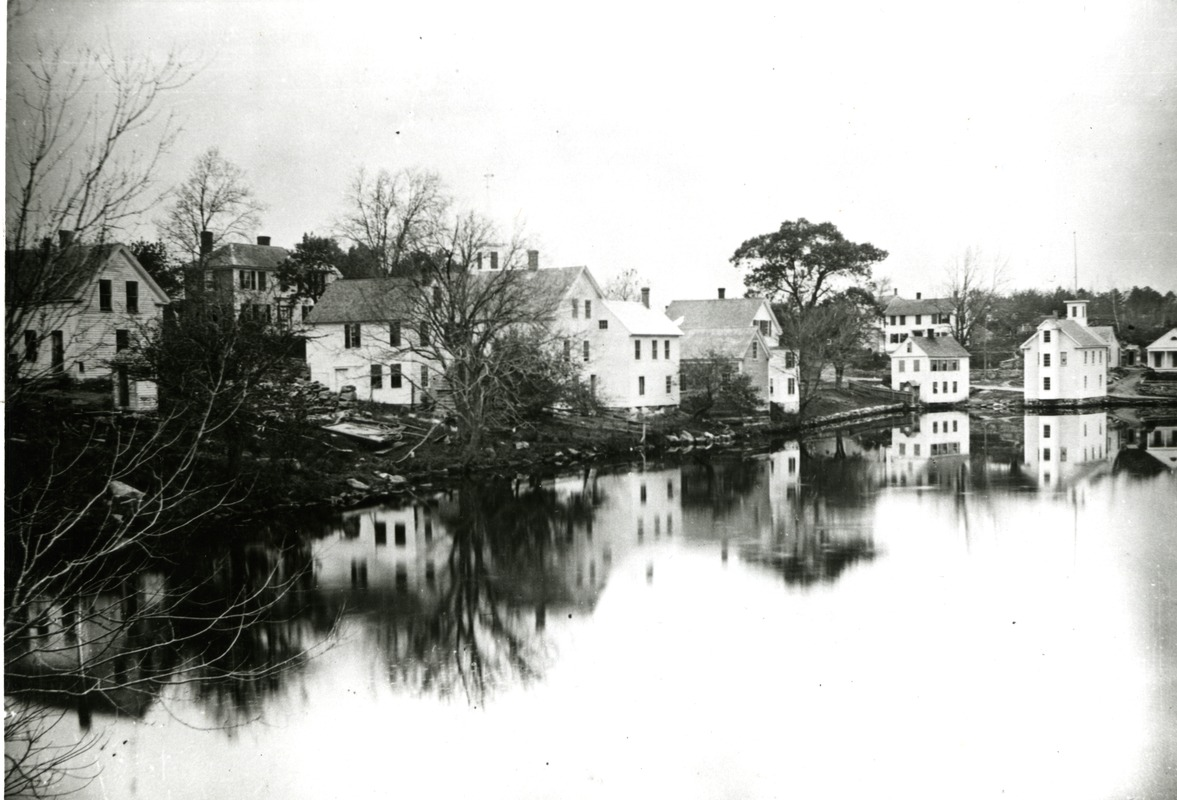 Woodville Across the Pond, Hopkinton ca 1888